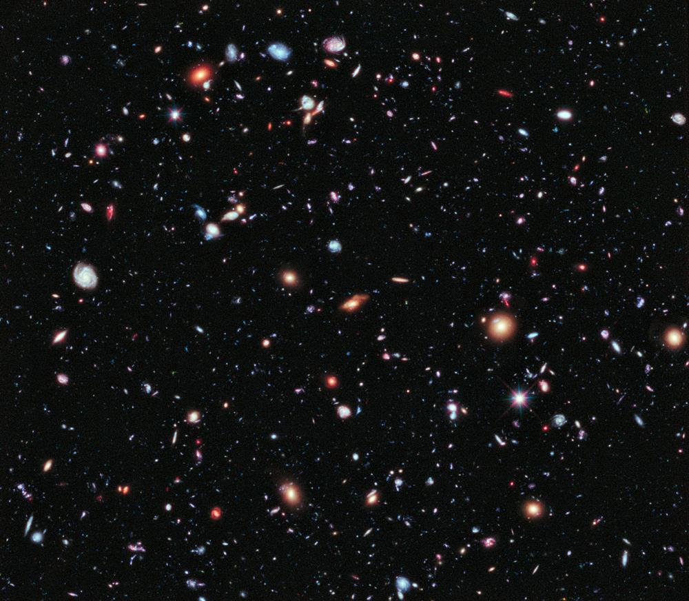 Le champ profond du ciel vu par Hubble