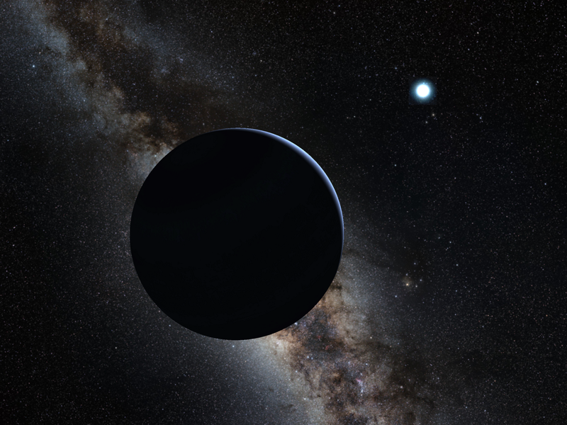 Artist's view of the 9th planet