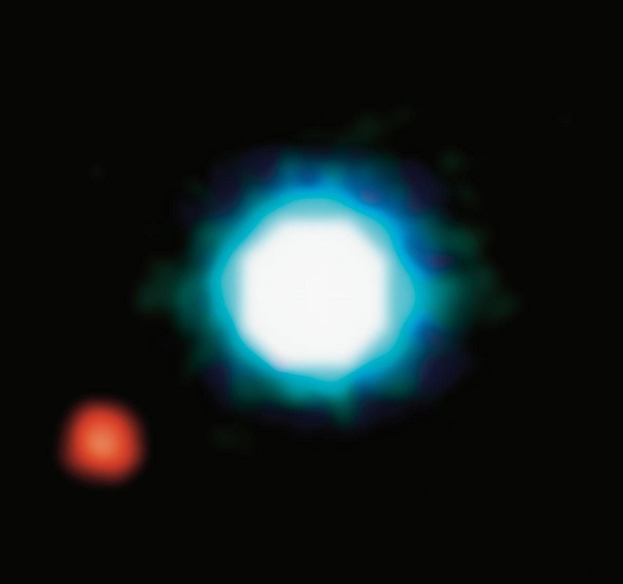 Première image d'une exoplanète