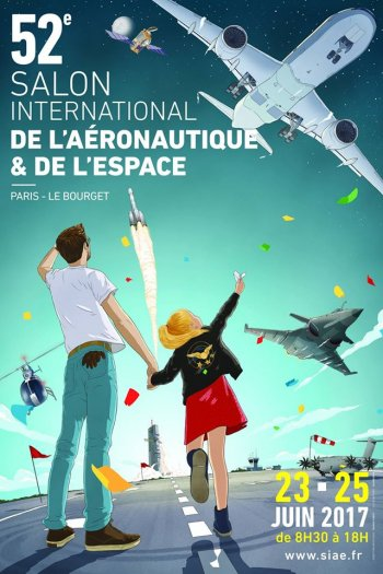 Affiche Salon du Bourget 2017