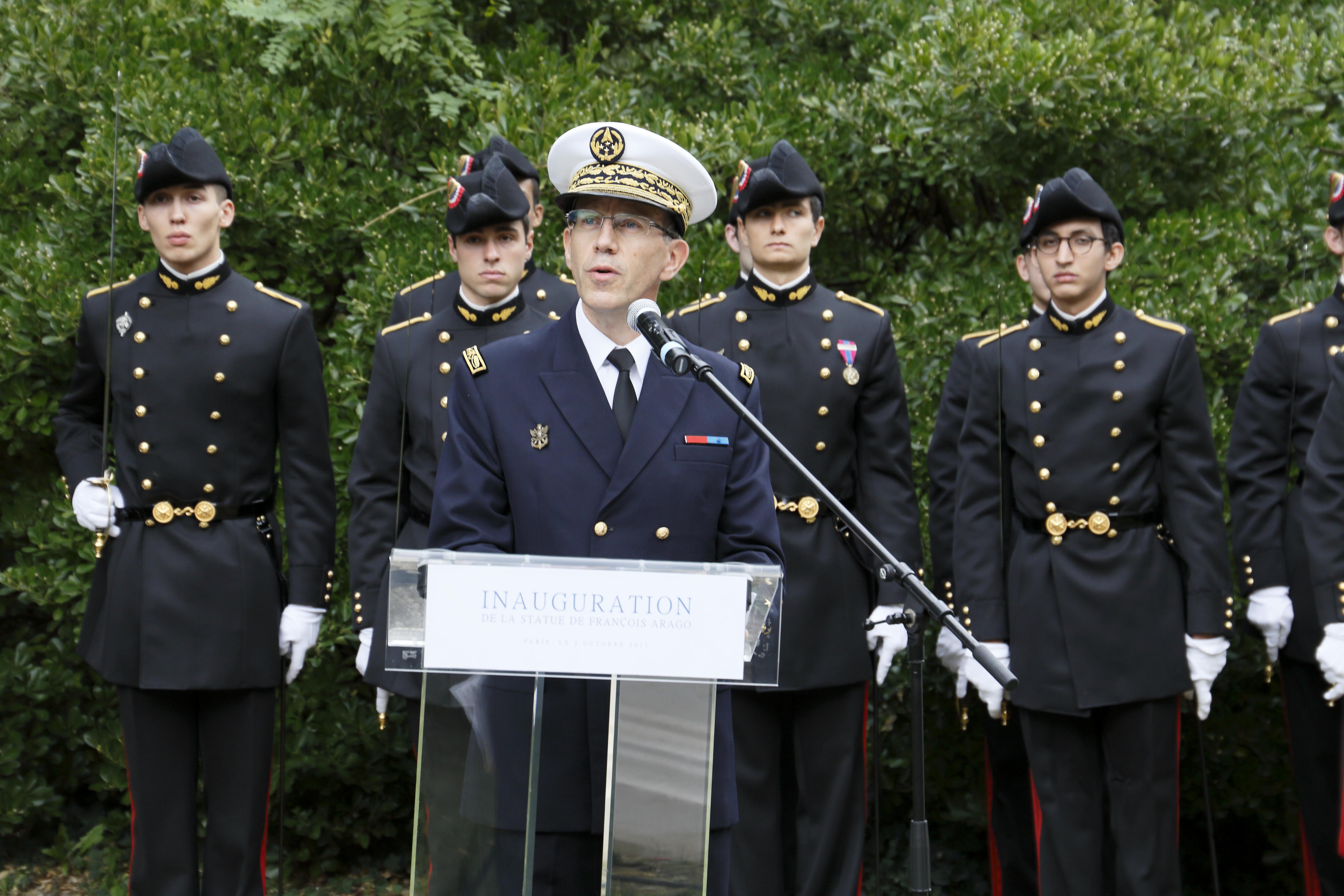 François Bouchet (X 1986), directeur général de l'École polytechnique. © Jean Aboudarham, Observatoire de Paris