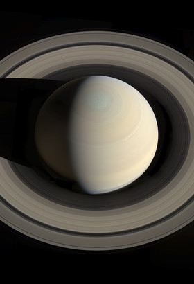 Saturne par Cassini. ©NASA