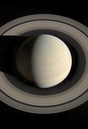 Saturne par Cassini. ©NASA