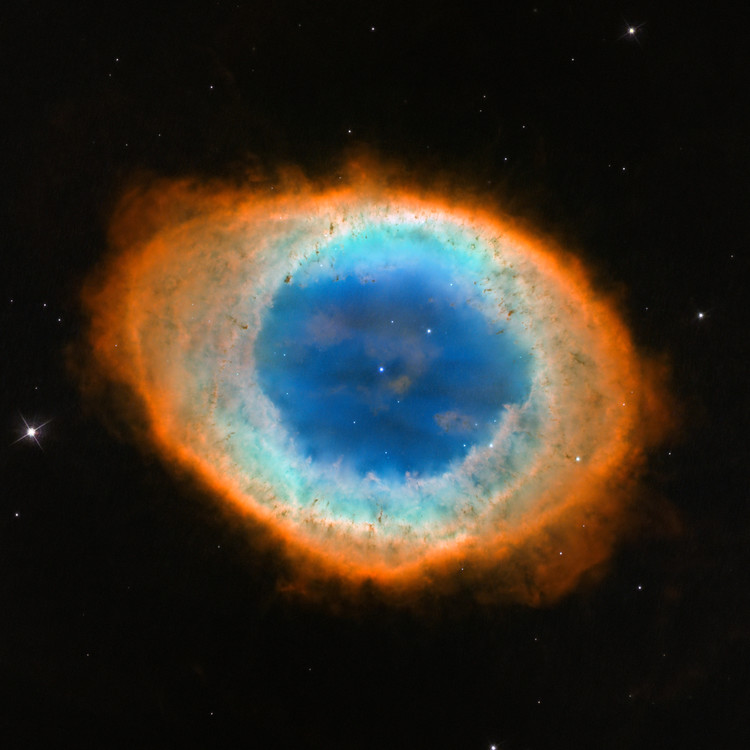 Nébuleuse de la Lyre – droits : NASA/ESA/Hubble Collaboration
