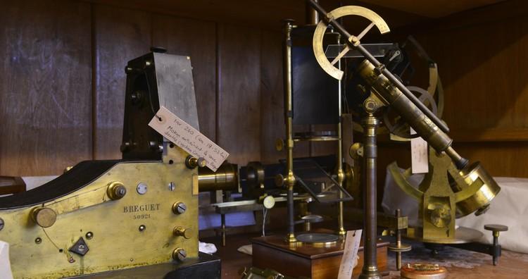 Dans les réserves des instruments anciens – droits : Gil Lefauconnier