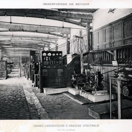 Le laboratoire d'analyse des gaz de Janssen – droits : Observatoire de Paris