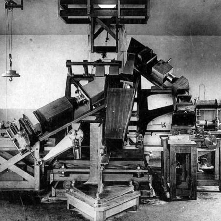 Le spectrohéliographe de Deslandres – droits : Observatoire de Paris