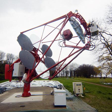Le gamma-ray Cherenkov telescope – droits : J.-P. Amans