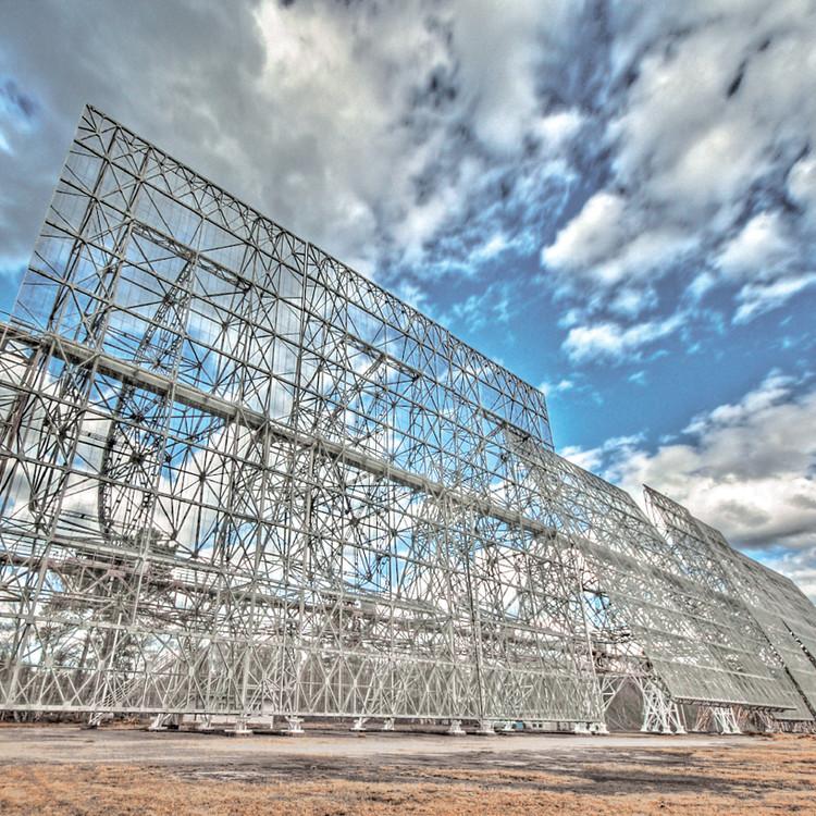 Miroir mobile du grand radiotélescope – droits réservés