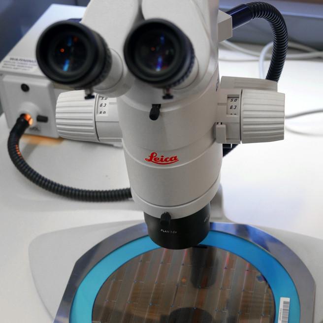 Inspection au microscope – droits : Nicolas Lesté-Lasserre