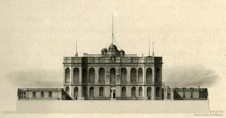 L'Observatoire de Paris vers 1837 – droits : Observatoire de Paris