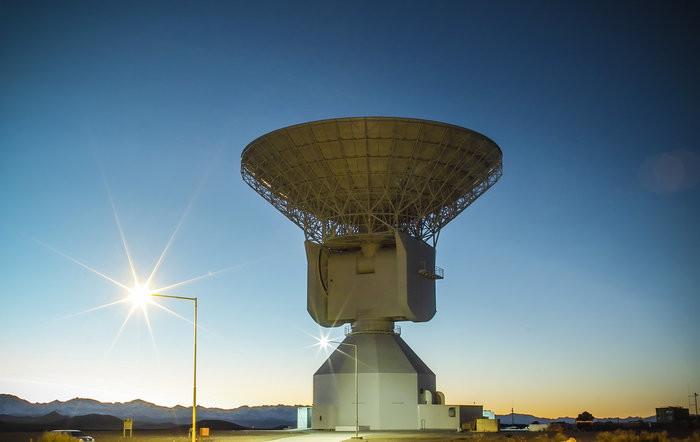 La station de suivi de satellites à Malargüe, Argentine - droits : ESA/S. Marti