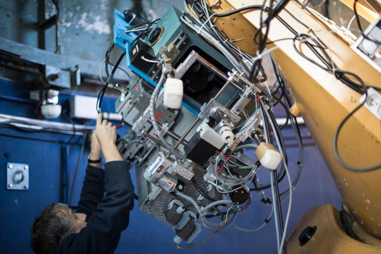 Télescope au Pic-du-Midi – droits : Mélanie Desriaux