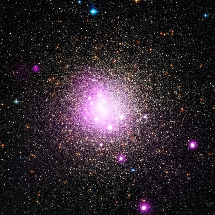 L'amas globulaire NGC 6388 – droits : NASA/CXC/IASF Palermo/M.Del Santo et al/STScI