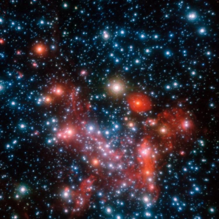 Un trou noir se cache au centre de la Voie Lactée – droits : ESO/S. Gillessen et al.