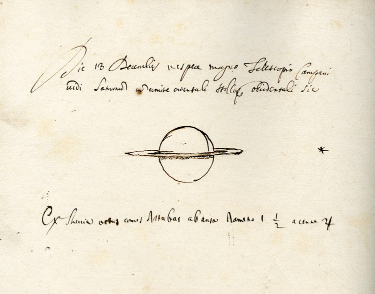 Journal d'observation de Cassini - droits : Observatoire de Paris