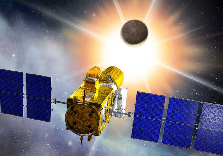 Le satellite CoRot - droits : CNES/D. Ducros