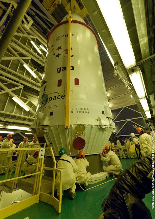 Préparation du lancement de Gaia - droits : ESA/CNES/Arianespace
