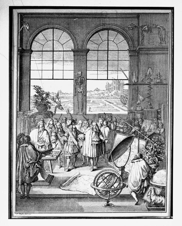 Louis XIV et l'Académie des sciences - droits : Observatoire de Paris