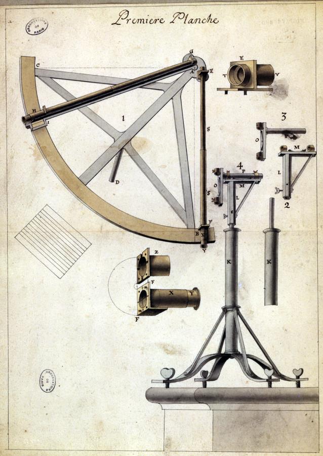 Quart de cercle - droits : Observatoire de Paris