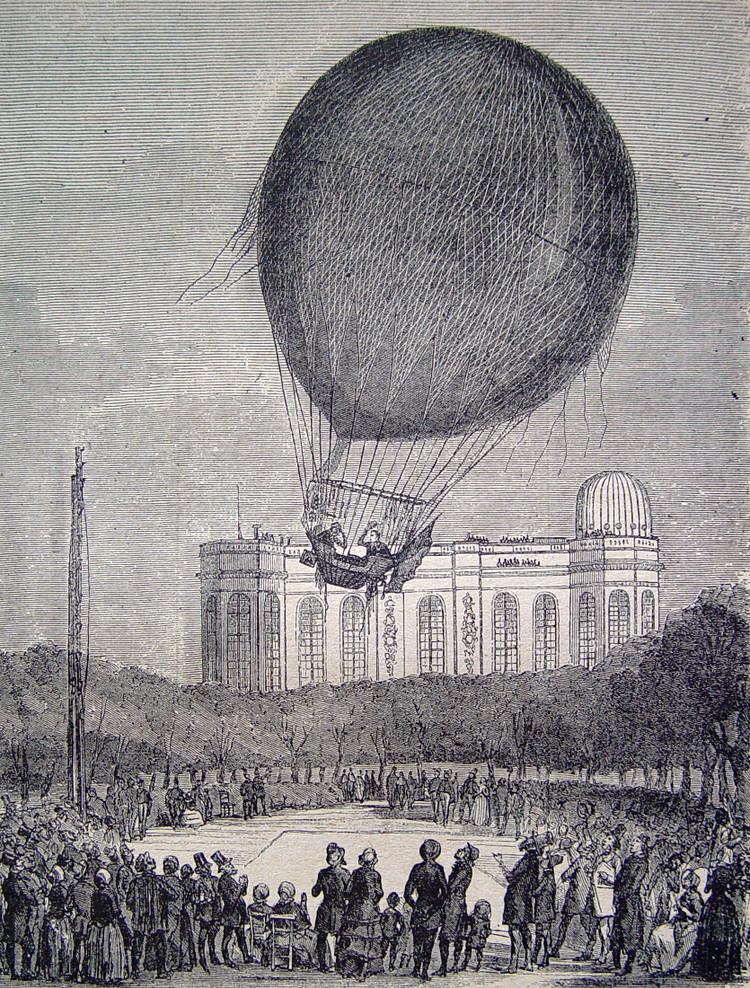 Ascension de Barral et Bixio - droits : Observatoire de Paris