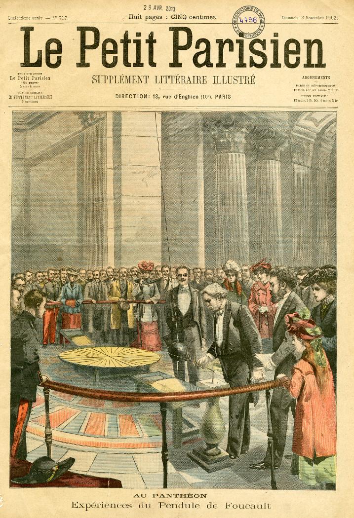 Le pendule de Foucault au Panthéon - droits : Observatoire de Paris