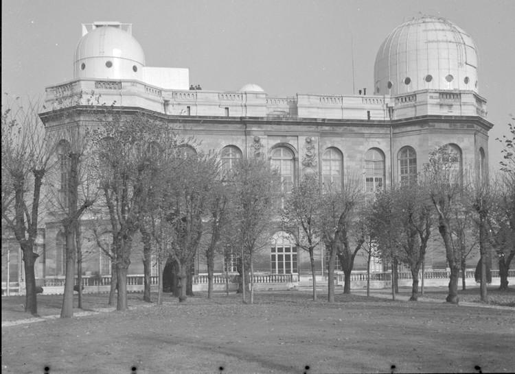 L'Observatoire de Paris en 1960 - droits : Observatoire de Paris