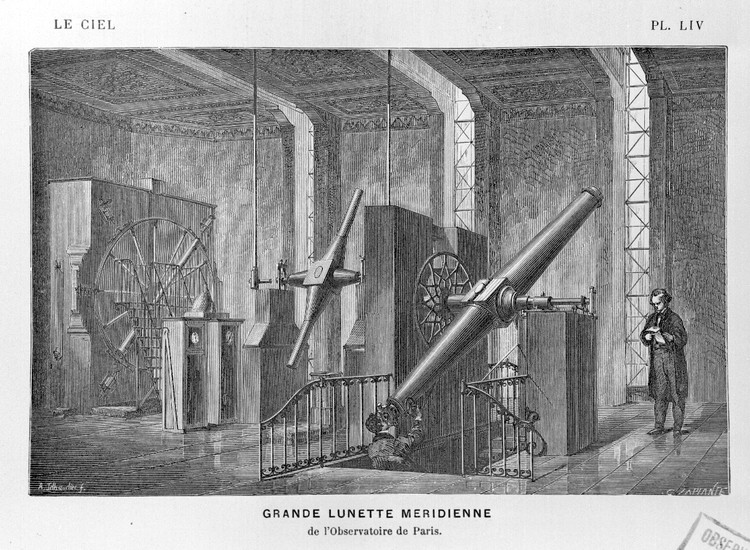 Grand instrument Méridien - droits : Observatoire de Paris