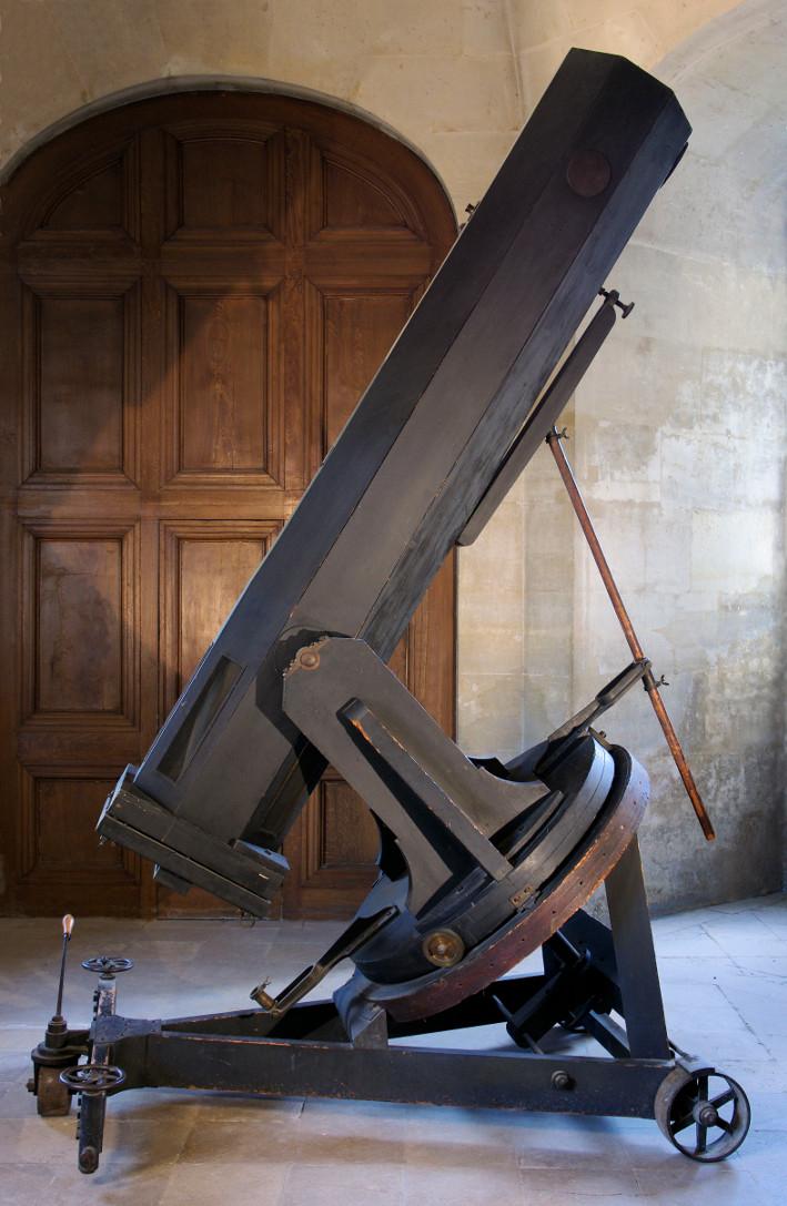 Télescope de 40 cm - Foucault, Eichens - droits : Observatoire de Paris