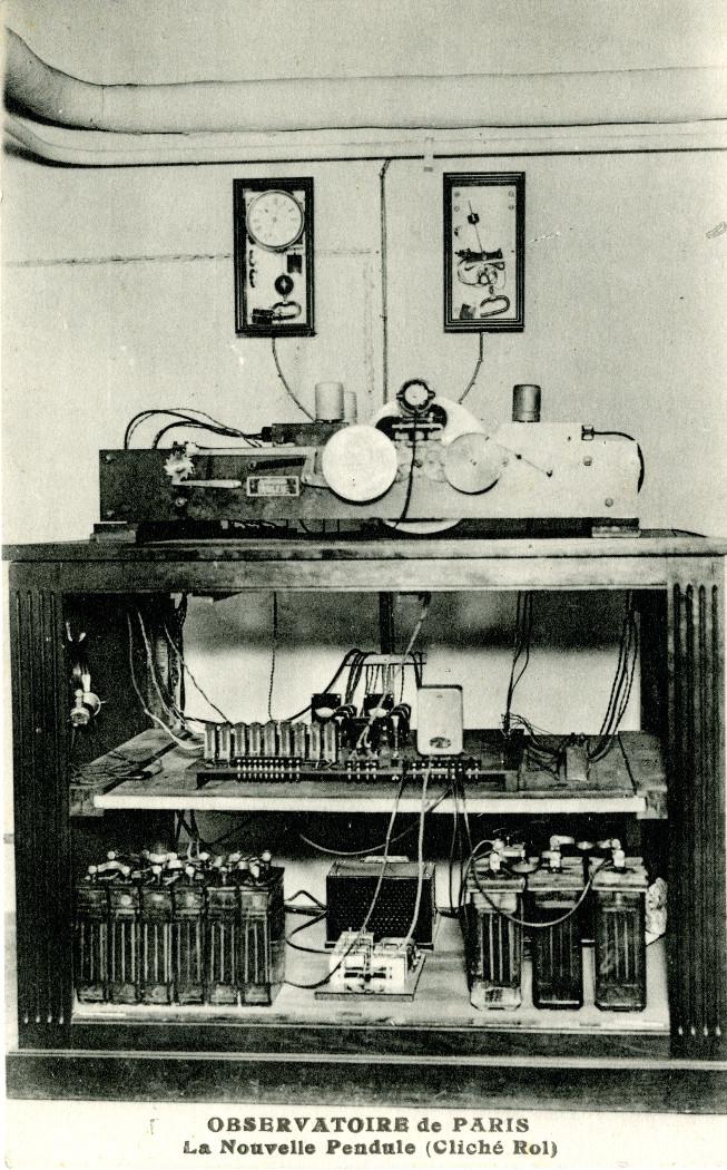 Horloge parlante conçue par Ernest Esclangon, Maison Brillié, 1932 - droits : Observatoire de Paris