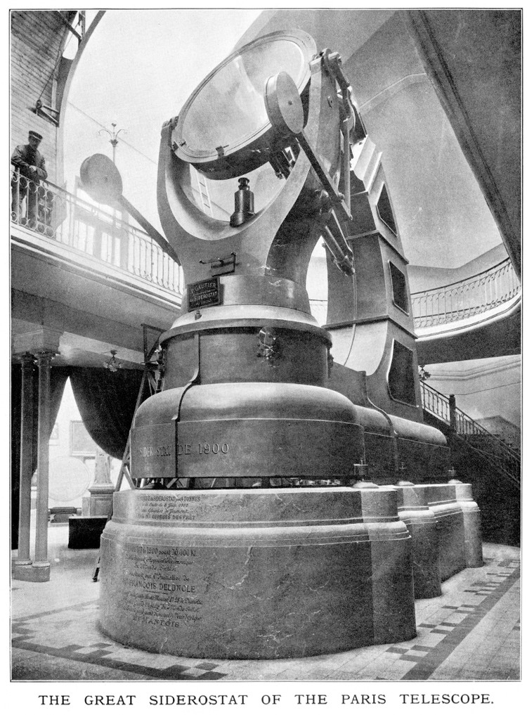 Le grand sidérostat de 1900 - droits : Observatoire de Paris