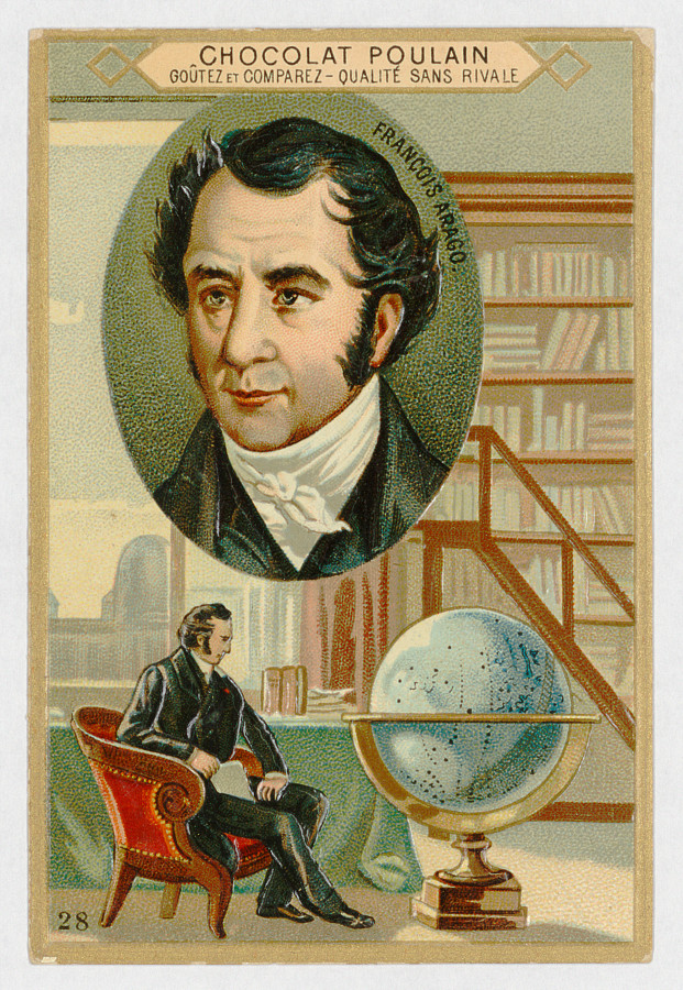 Portrait of Arago. Lithography - credits : Observatoire de Paris