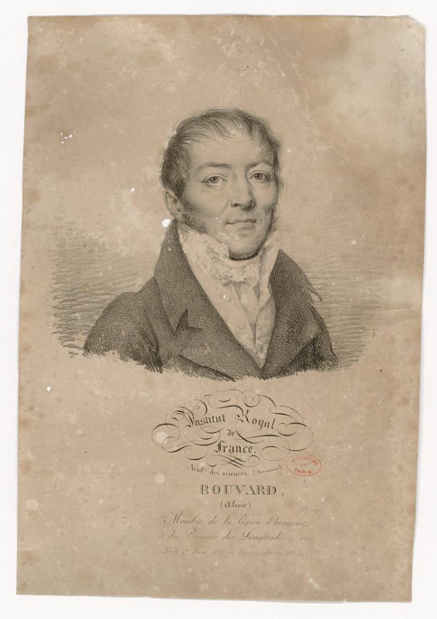 Bouvard's portrait - credits : Observatoire de Paris