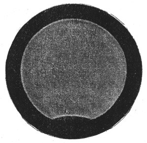 First daguerreotype of the Sun in 1839 - credits : CNAM