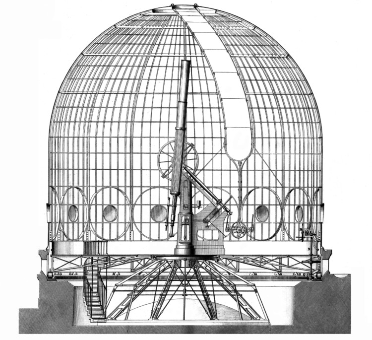 Large refracting telescope - credits : Observatoire de Paris