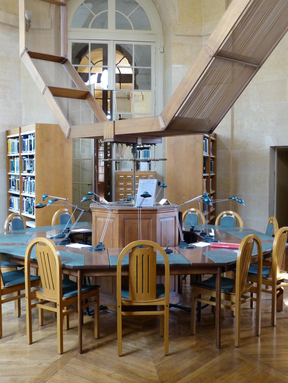 La salle de lecture de l'Observatoire de Paris - Droits : Observatoire de Paris