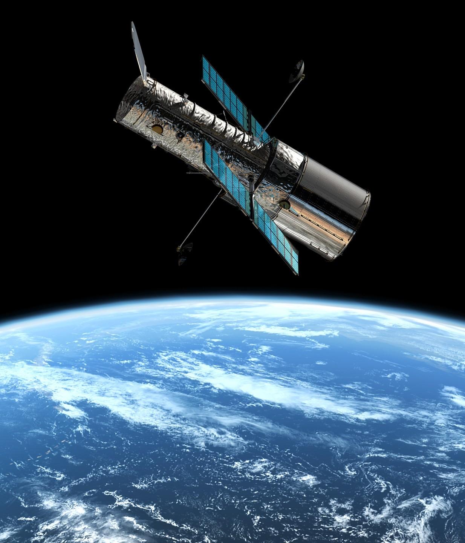 Le télescope spatial Hubble - droits : NASA