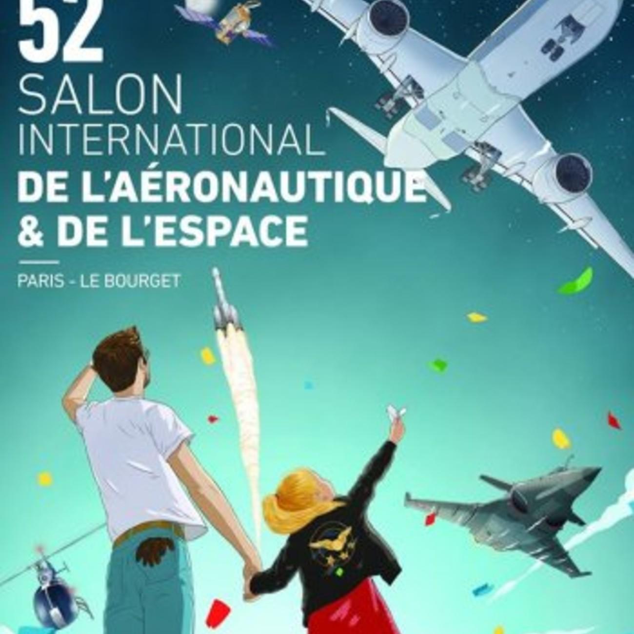 Affiche Salon du Bourget 2017